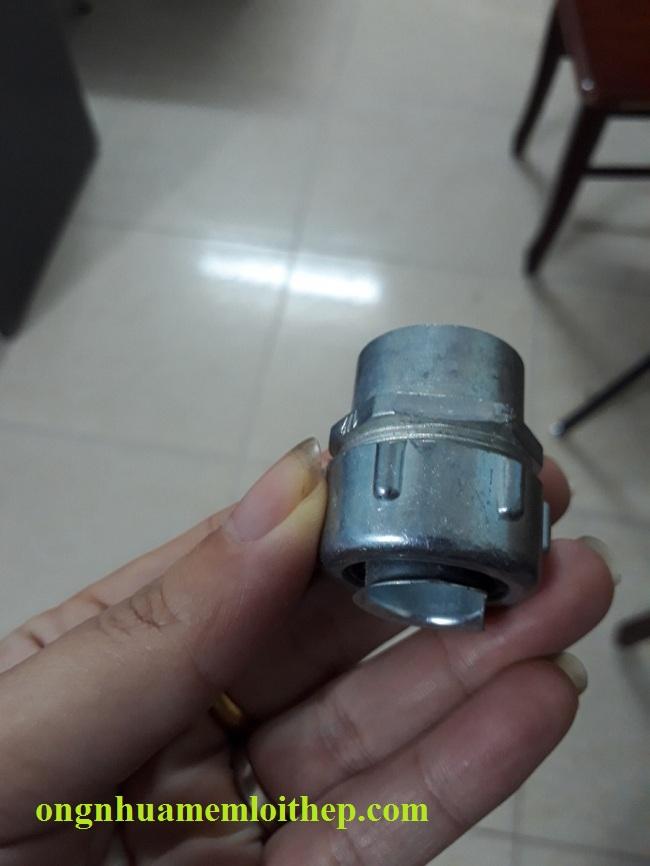 Đầu nối Ống ruột gà với ống thép nối ren