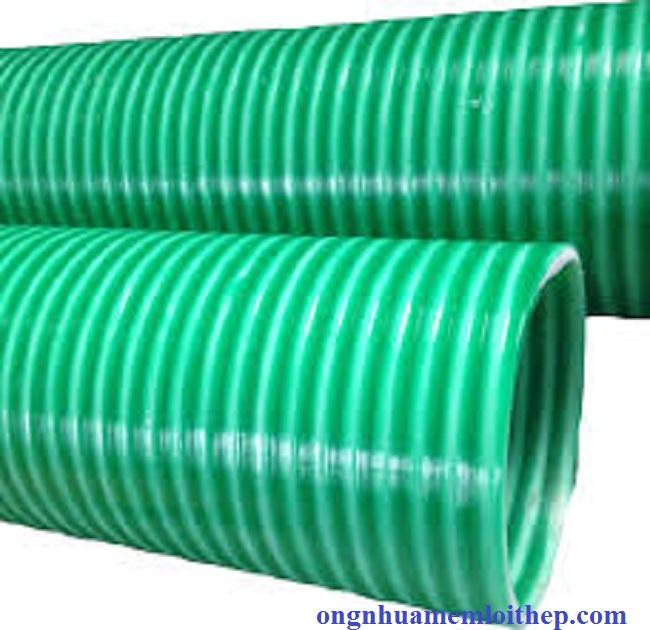 Ống Gân Nhựa Hút nước, Thổi liệu