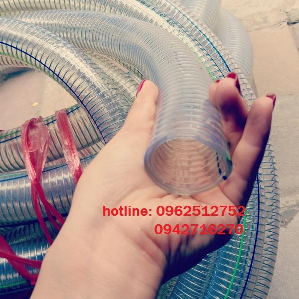 ống nhựa mềm lõi thép chịu áp lực cao
