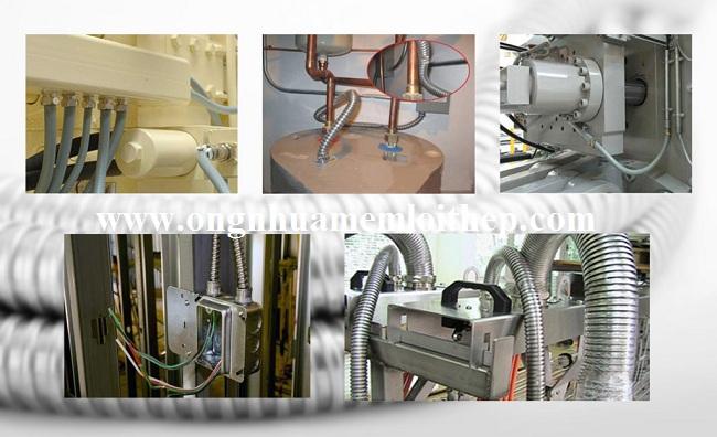 Lắp đặt Ống ruột gà mềm cho hệ thống điện
