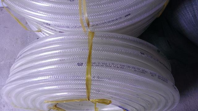 Ống nhựa mềm lưới dẻo dân nước màu trắng