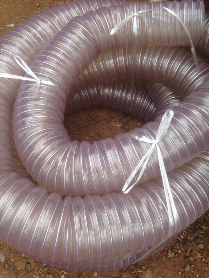 Ống hút bụi lõi thép, ống lõi kẽm nhựa pvc dẻo