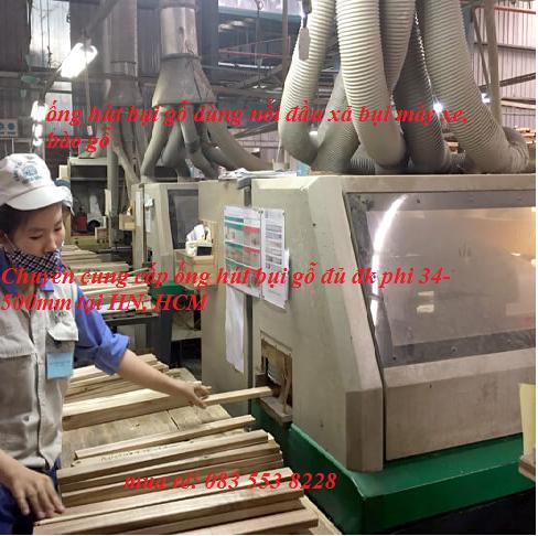 Ống hút bụi gỗ máy gỗ công nghiệp tại long an