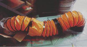 Ống mềm vải lõi thép lò xo được cung cấp bởi công ty azk