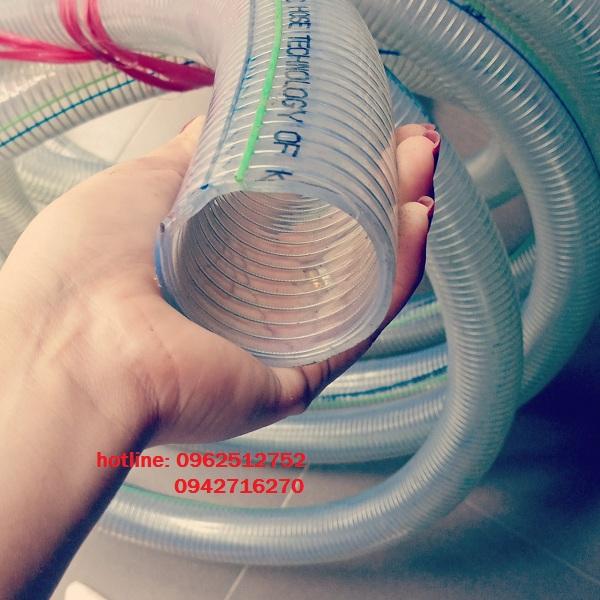 bán ống nhựa mềm lõi thép