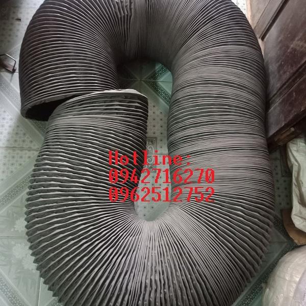 giá ống gió mềm vải màu ghi