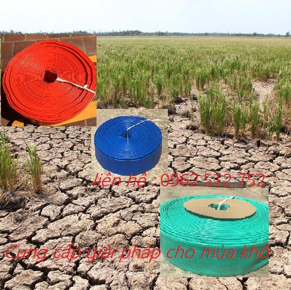 giải pháp cho mùa mưa, khô hạn, mùa lũ
