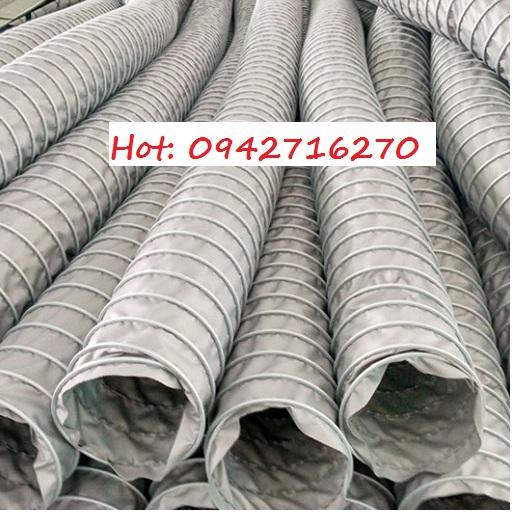 giá ống gió vải chống cháy phi 150