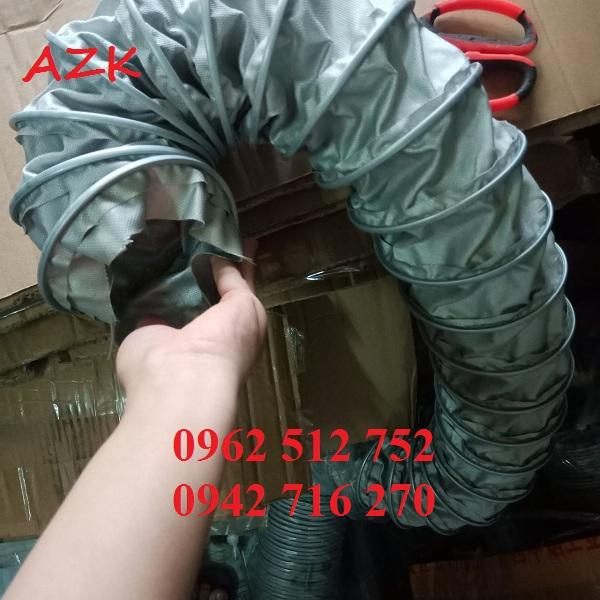 giá ống gió vải chống cháy phi 100