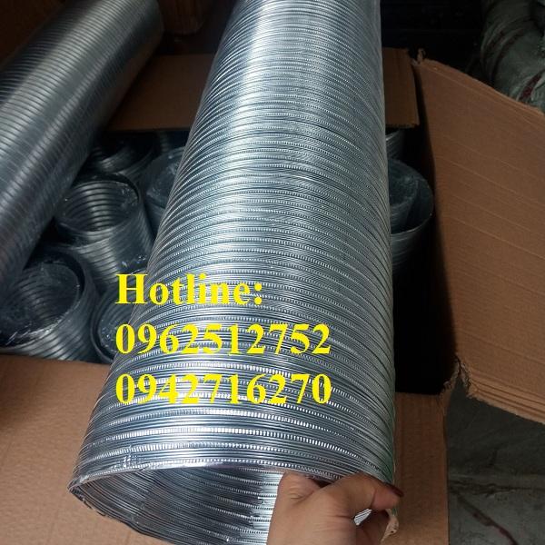 ống nhôm nhún cứng d75