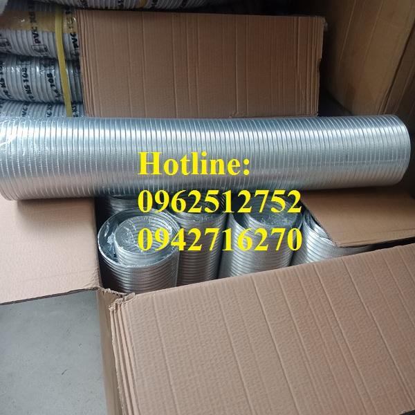 giá ống nhôm nhún cứng d100 cây 3m