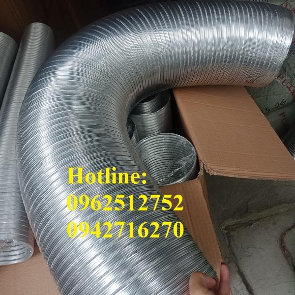 ống nhôm nhún d150 giá rẻ