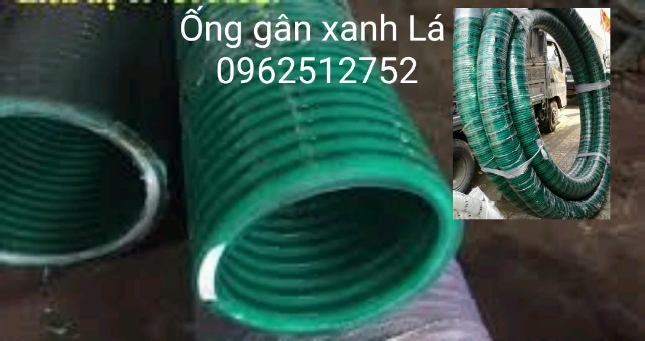 ống gân xanh lá hút áp lực cao