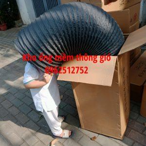 Kho ống gió mềm vải fiber tại Hà nội