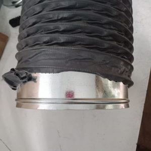 Mang xông nối ống gió mềm vải tại hà nội